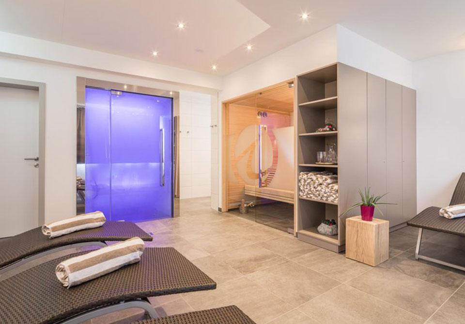 Appartements Insieme Obertauern - Sauna und Dampfbad