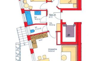 Insieme Obertauern - Grundriss Appartement Il Cielo