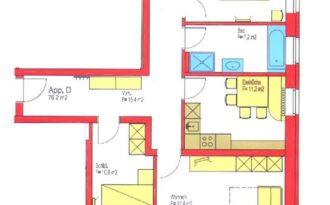 Insieme Obertauern - Grundriss Appartement L'Acqua